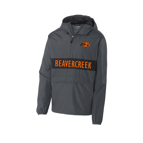 Beavercreek Beavers Zipped Pocket Anorak