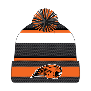 Beavercreek Beavers Knit Cap with Pom