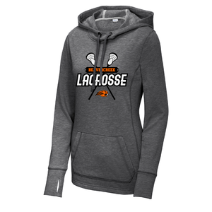 Beavercreek Lacrosse Club Ladies Tri-Blend Wicking Fleece Hooded Pullover
