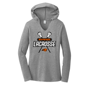 Beavercreek Lacrosse Club Ladies Tri-Blend Long Sleeve Hoodie