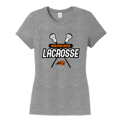Beavercreek Lacrosse Club Ladies Tri-Blend T-Shirt