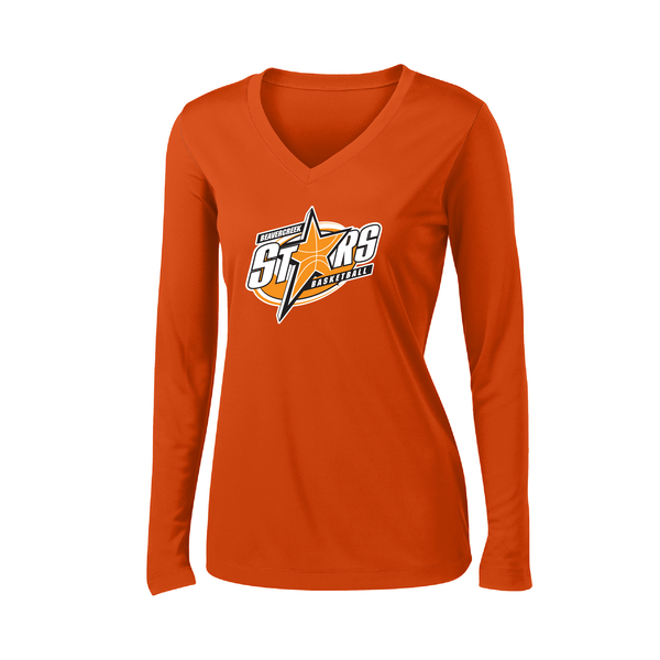Beavercreek Stars Ladies Long Sleeve Dry-Fit T-Shirt
