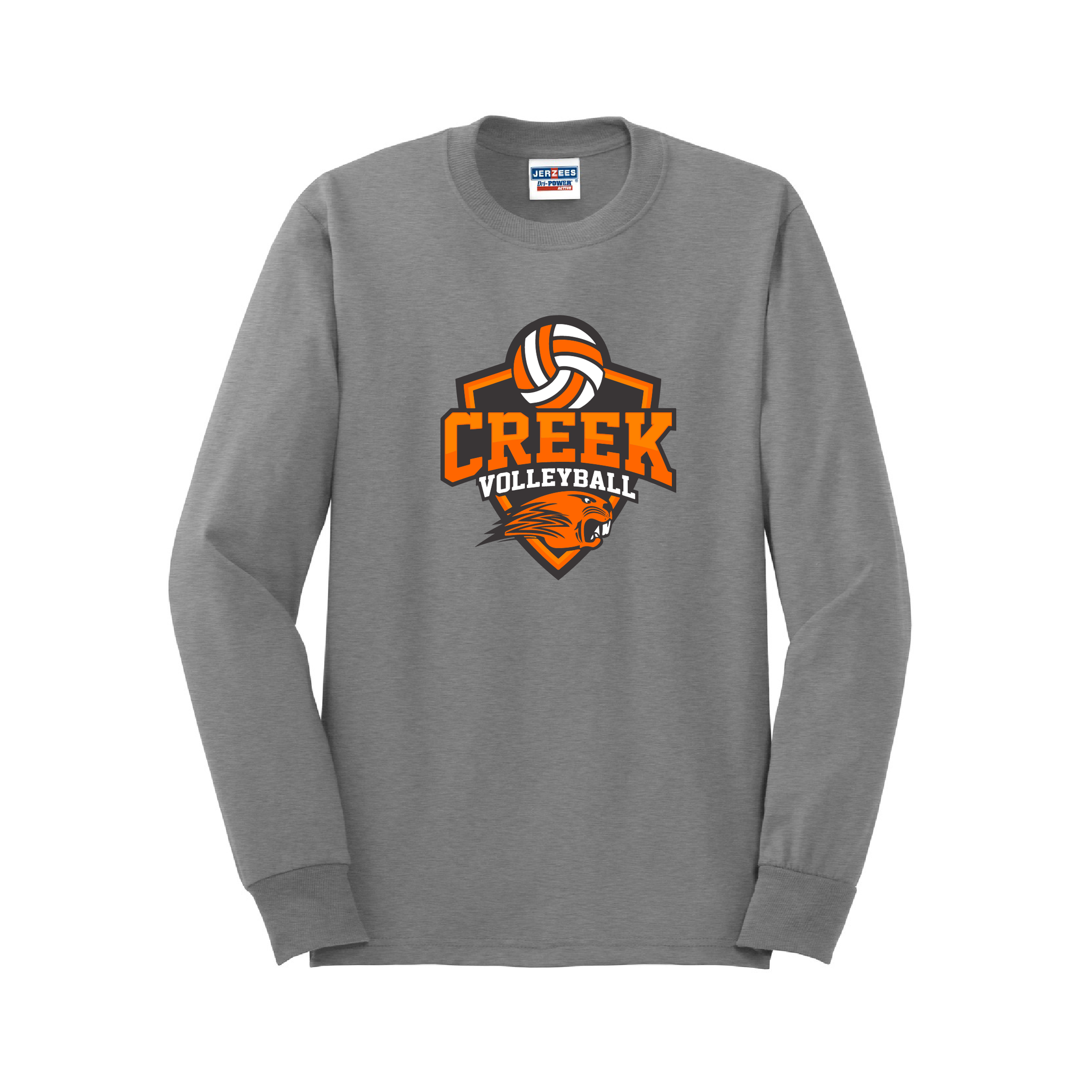 Beavercreek Volleyball Long Sleeve T-Shirt - Logo B