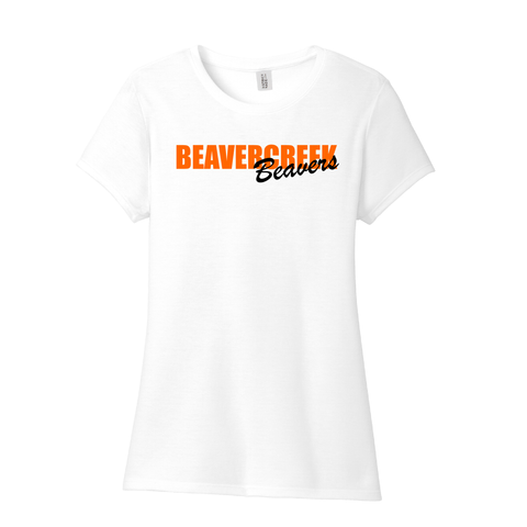 Beavercreek Beavers Ladies Tri-Blend Tee