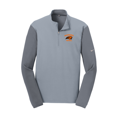 Beavercreek Football Nike Dri-FIT Fabric Mix 1/2-Zip Cover-Up