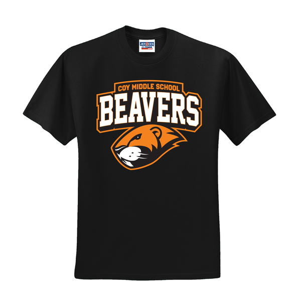 Coy Middle School Beavers T-Shirt