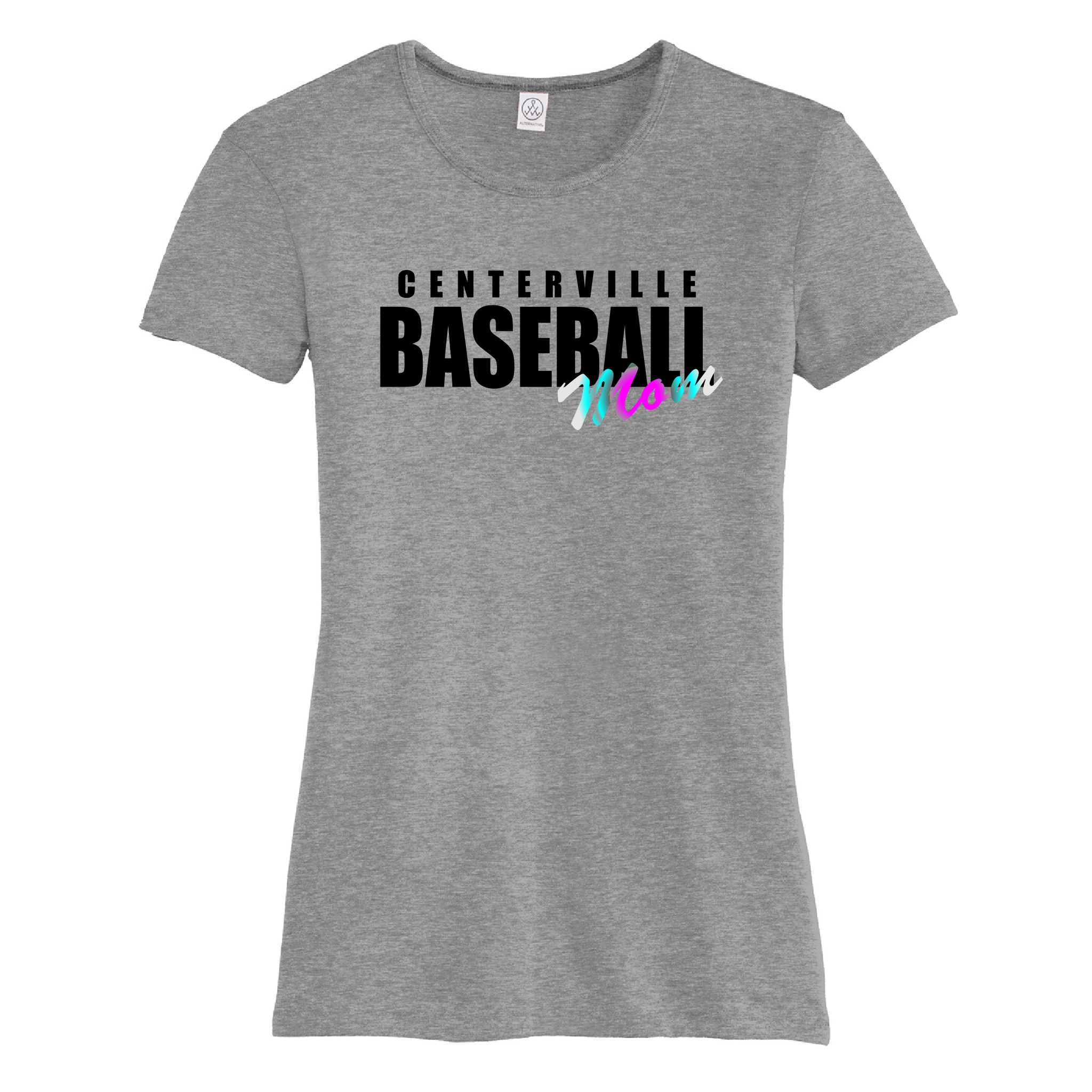 Centerville Baseball Mom T-Shirt