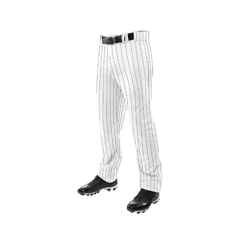 Champro Triple Crown Pinstripe Open Bottom Baseball Pants
