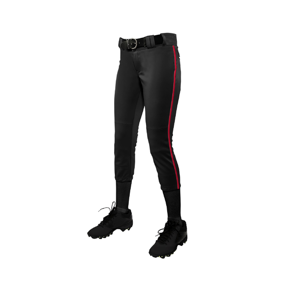 Champro Tournament Low-Rise Softball Pants with Braid