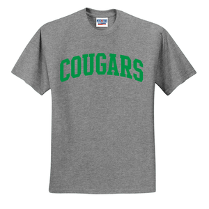 Colonel White Cougars Team T-Shirt