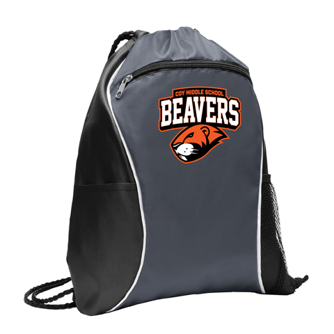 Coy Middle School Beavers Cinch Bag