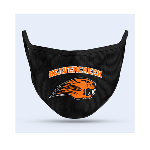 Beavercreek Beavers Sublimated Face Mask
