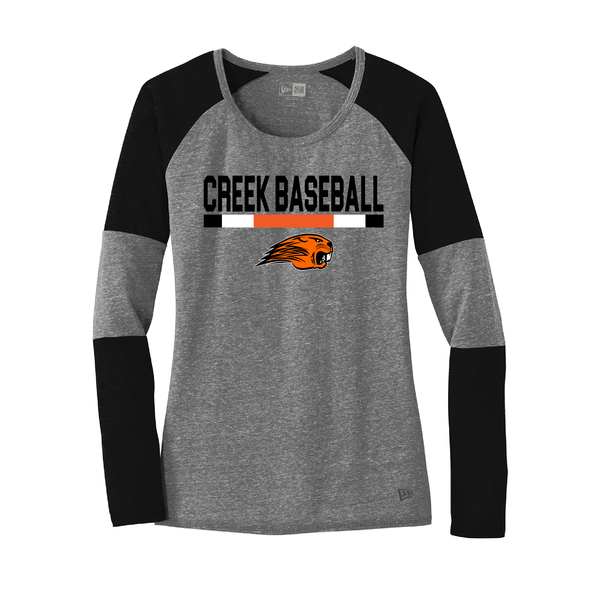 Beavercreek Baseball New Era Ladies Tri-Blend Tee