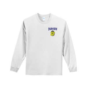 Fairview Alumni Long Sleeve T-Shirt - Front and Back Logo