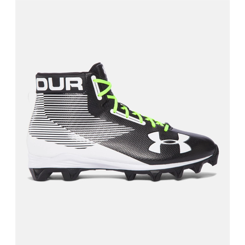 Under Armour Men's Hammer Mid Rubber Molded Football Cleats