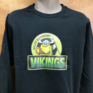 Valley Vikings Team Crew Neck Sweatshirt