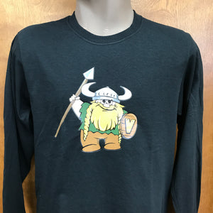 Valley Vikings Mascot Long Sleeve T-Shirt