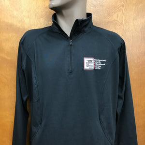 MCESC Ladies Sport-Wick Stretch 1/2-Zip Pullover