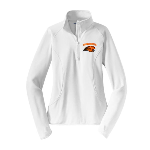 Beavercreek Beavers Ladies Stretch 1/2-Zip Pullover