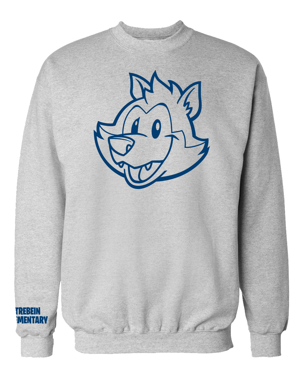 "Trebein Elementary ""Timmy"" Crew Neck Sweat Shirt"