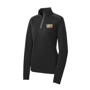 MCESC Ladies Sport-Wick Textured 1/4-Zip Pullover