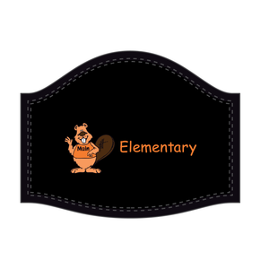 Main Elementary Sublimated Face Mask