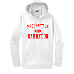 Property of Ram Nation Sport-Wick Fleece Hoodie