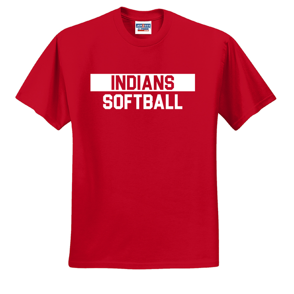 Riverside Indians Softball T-Shirt