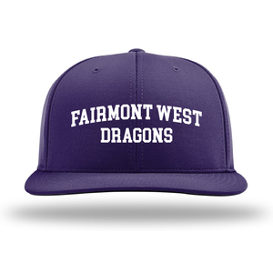 Fairmont West Dragons Flex-Fit Hat