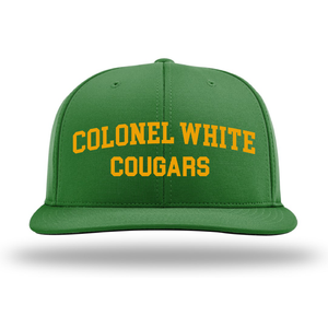 Colonel White Cougars Flex-Fit Hat
