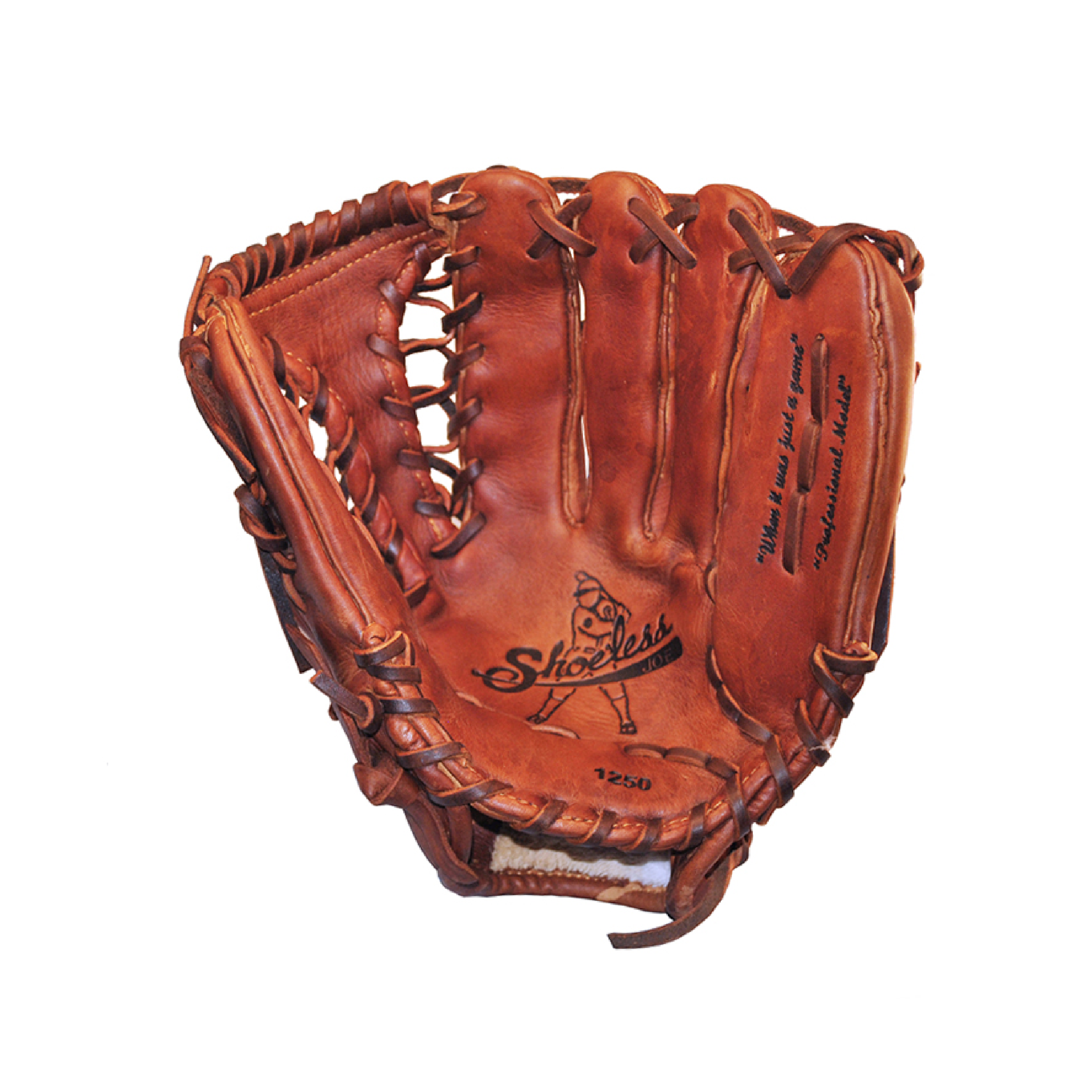 "Shoeless Joe 12.5"" Tennessee Trapper Baseball Glove"