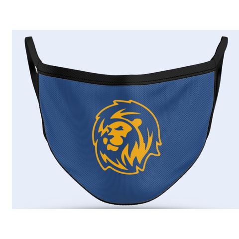 St. Luke Lions Sublimated Face Mask
