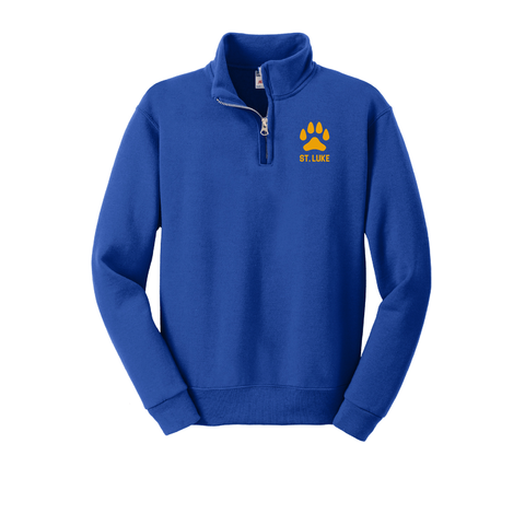St. Luke Lions Youth 1/4-Zip Sweatshirt