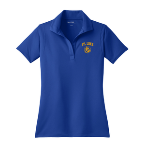 St. Luke Lions Ladies Polo Shirt - Lion Head