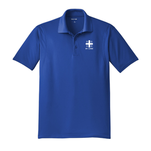 St. Luke Lions Polo Shirt - Cross