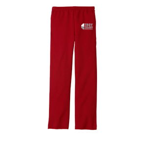 Troy Basketball Open Bottom Pants