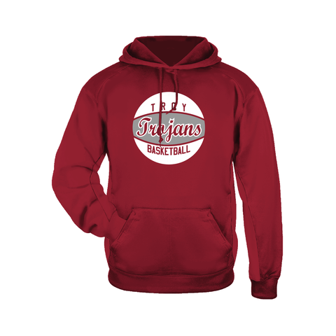 Troy Basketball Performance Fleece Hoodie