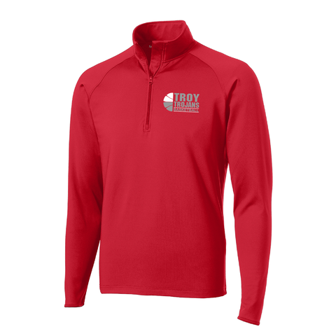 Troy Basketball Sport Wick 1/2-Zip Pullover