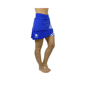 University of Kentucky Performance Skort/Blue
