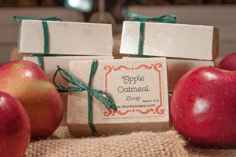 Apple Oatmeal Soap (6 oz.)