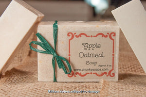 Apple Oatmeal Handcrafted Soap