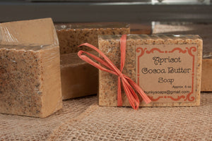 Apricot Cocoa Butter Handcrafted Soap