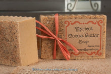 Load image into Gallery viewer, Apricot Cocoa Butter Handcrafted Soap