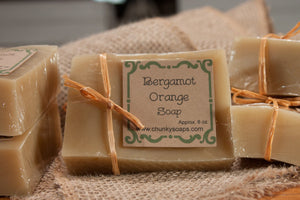 Bergamot Orange Handcrafted Soap
