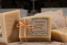 Load image into Gallery viewer, Bergamot Orange Handcrafted Soap