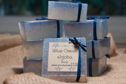 Blue Ocean Jojoba Handcrafted Soap