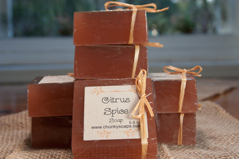 Citrus Spice Soap (5.5 oz.)