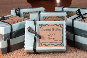 Handcrafted Cocoa Butter Spa Soap
