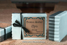 Load image into Gallery viewer, Handcrafted Cocoa Butter Spa Soap