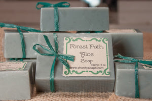 Forest Path Aloe Handcrafted Soap